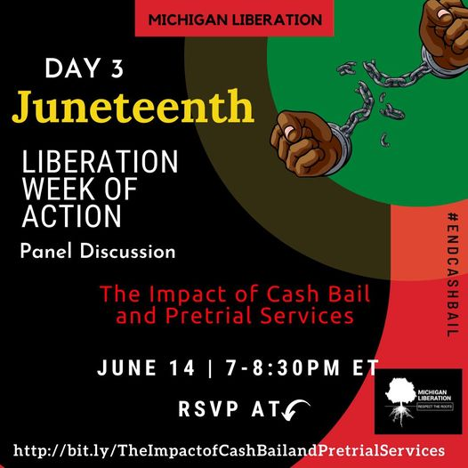 Michigan Liberation Juneteenth Liberation Week of Action Starts Today