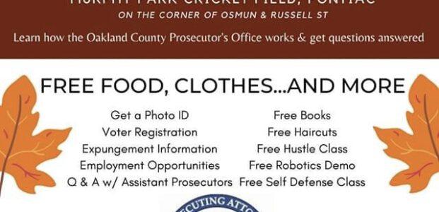Justice Resource Fair in Pontiac